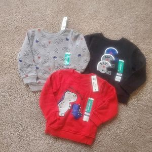 New 24 month boys sweatshirts